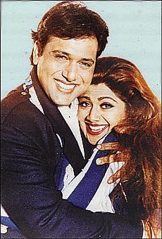Tribuneindia bollywood bhelpuri govinda and shilpa shetty in chhote sarkar altavistaventures Choice Image