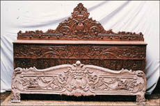 About 35 Furnishing Firms Of Saharanpur Contribute 50 Per Cent Of Wood Carved  Furniture To