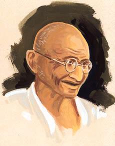 Mohandas Karamchan Gandhi
