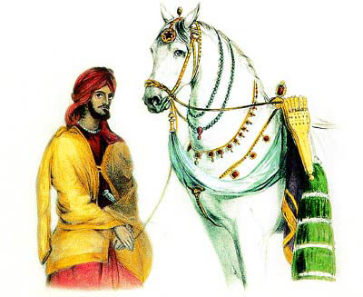 Ranjit Singh & Laili - His Favorite Horse