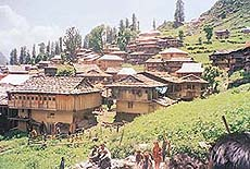 The tribal village of Malana, which has its own system of governance, is fortified by natural barriers