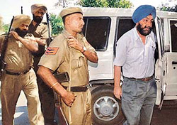 Punjab Public Service Commission Chairman Ravinder Pal Sidhu produced in the local court