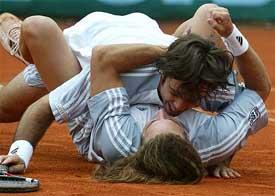Tennis pics Gay fans