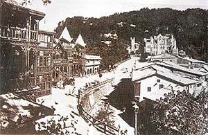 Kipling in My Own True Ghost  Story wrote that there were two ghosts in Shimla
