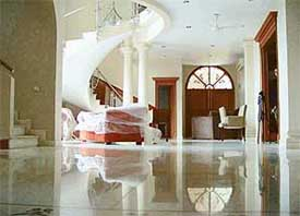 the Sector 9 house of former Punjab Chief Minister Parkash Singh Badal ...