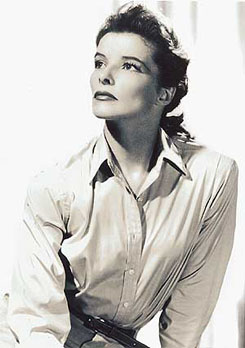 I'm Katherine Hepburn – who are you?