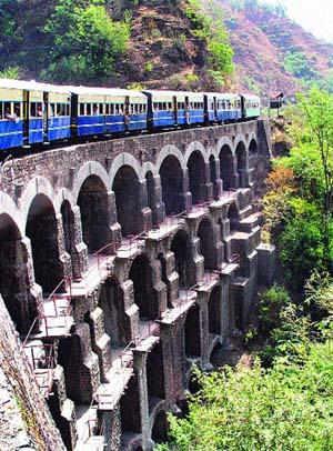 kalka to shimla train schedule