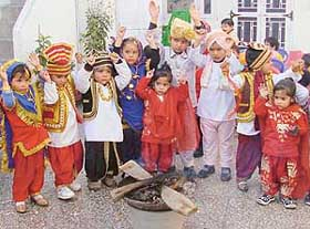 Image result for children lohri