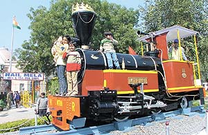 The two-day Rail Mela at Baroda House begins in the Capital on Saturday