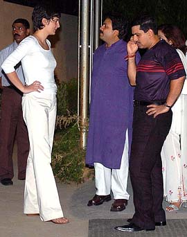Priyanka Gandhi with her husband Robert Vadera