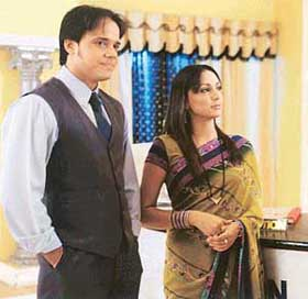 Tonk and Shona in Kahin Kissi Roz: Tied in knots