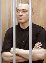 Mikhail Khodorkovsky Stands Trial