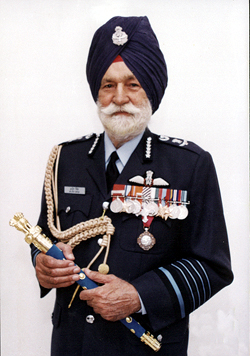 Marshal of the Indian Air Force, Arjan Singh