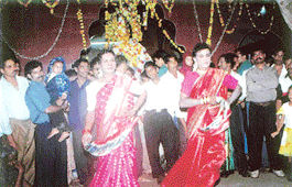 Eunuchs play a significant role in the celebrations