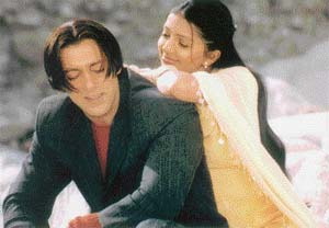hairstyle in Tere Naam Tere Naam Hairstyle