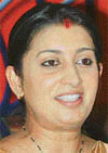 Smriti Irani is keen on theatre