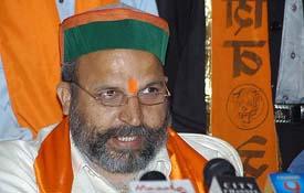 <b>...</b> Mr Jai <b>Bhagwan Goel</b>, in charge of the Shiv Sena for northern states, <b>...</b> - him
