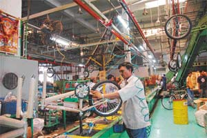 Bicycle industry in india
