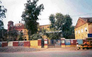 DAV High School, once the most famous school of undivided Punjab, is now called Government Muslim High School No 2