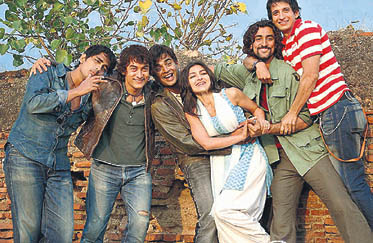 Aamir plays an aimless youth in Rang De...