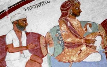 Portraits of Maharaj Singh and Guru Baba Suraj Singh