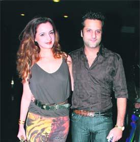 Fardeen Khan and his sister Laila Khan Rajpal make for a ...