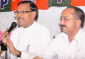 BJP-JP tie-up in Chandigarh