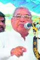 Chief Minister of Haryana Bhupinder Singh Hooda addresses a rally in Gurdaspur on Sunday.