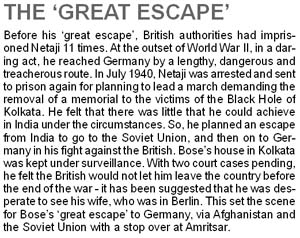 Subhash Chandra Bose The Great Escape | RM.
