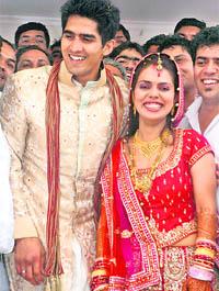 Vijender Singh Marriage Vijender Singh marries...