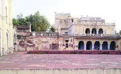 A view of the Deewan Khana at Banasar Bagh in Sangrur.