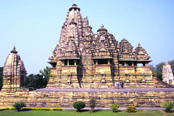 Vishwanath Temple is part of the Western group of temples, the largest and the best-known group