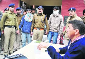 A gang of thieves nabbed by the Dehradun police