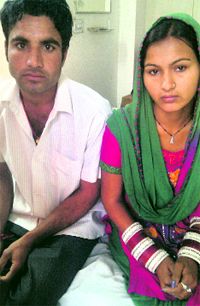 Priyanka and Suresh fear threat to their lives due to their inter-caste marriage.