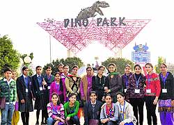 The Tribune Chandigarh India  Jalandhar Tribune Students Of Various Schools During A Visit To Science City Kapurthala As  Part Of The Programme