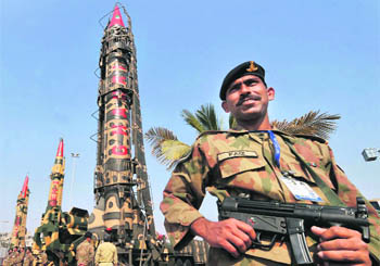 The growth of Pakistan's nuclear stockpile is commensurate with a targeting objective to exact overwhelming damage sufficient to prevent India from recovering as a functioning society.