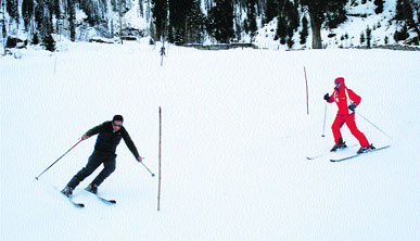 Skiing Spots in Pahalgam