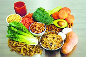 eat fruits, vegetables, nuts, and seeds