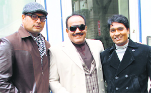 The star cast of TV show, CID